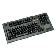 CHERRY PS/2 Compact TouchPad Keyboard, Black (G80-11900LTMUS-2)