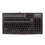 CHERRY USB 2.0 Compact MSR Keyboard, Black (G80-7040LUVEU-2)