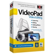 NCH Software® VideoPad - Video Editing Software, Windows, CD-ROM (RET-VPW001)