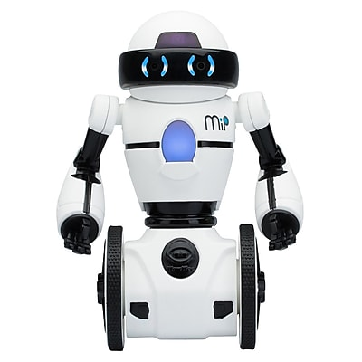Wowwee MIP Toy Robot, White/Black (0821) IM1XR6516