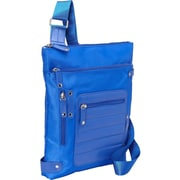 "Women in Business Phoenix City Blue Nylon Slim Shoulder Bag For 14"" Laptop"