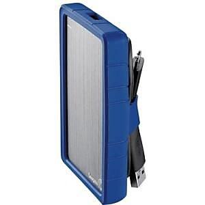 Seagate® Slim Hard Drive Case, Dazzling Blue (STDR402)