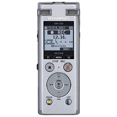 Olympus DM-720 4GB Digital Voice Recorder (V414111SU000)
