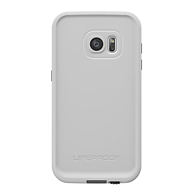 LifeProof Fre GS7 Phone Case, White/Grey, (7753379)