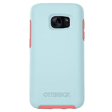Otterbox Symmetry GS7 Phone Case, Blue/Pink