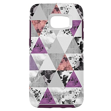 Otterbox Symmetry GS7 Phone Case, White/Purple