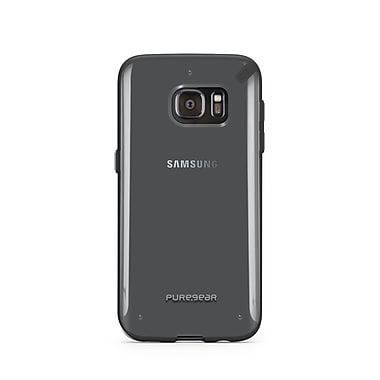 Puregear Slim Shell GS7 Phone Case, Clear/Black