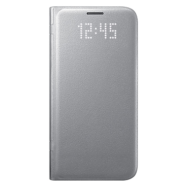 Samsung LED View Cover GS7 Phone Case, Silver