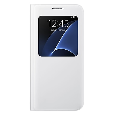 Samsung S View Cover GS7 Phone Case, White