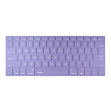 LOGiiX LGX-11986 Colour Shield Protector, Mac Keyboard Protection, Purple