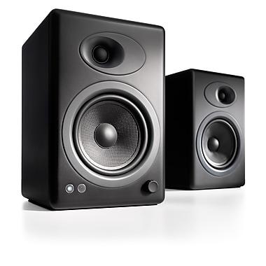 Audioengine - Haut-parleurs amplifiés de première qualité A5B-115V A5+, noir