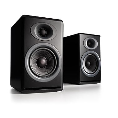 Audioengine AP4B Premium Passive Speakers, Black