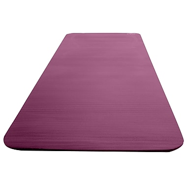Empower Deluxe Fitness Mat With Carry Strap, Purple, (MP-2971R)