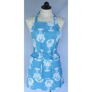 SF Bay Aprons Cotton Lobster Apron; Aqua