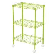 Wildon Home   DuVig 28'' H Three Shelf Shelving Unit; Green
