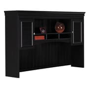 Bush Furniture Fairview Collection Hutch for L-Desk, Antique Black/Hansen Cherry (WC53931-03)