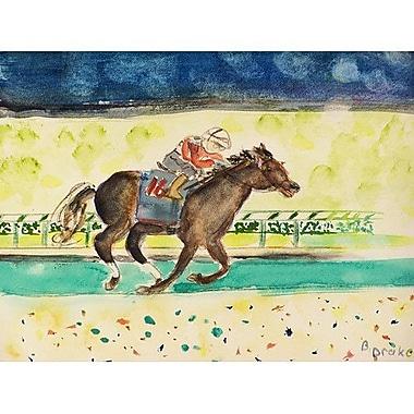 Betsy Drake Interiors Derby Winner Doormat; 2'6'' x 4'2''