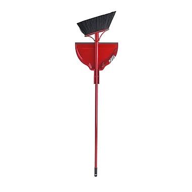 Vileda Double Action Broom with Dustpan