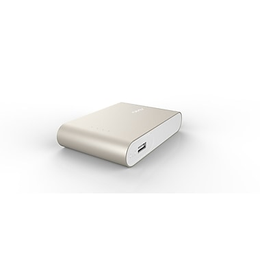 AViiQ - Chargeur Power Bank AV-PB10-GOLD 10400mAh, or, anglais