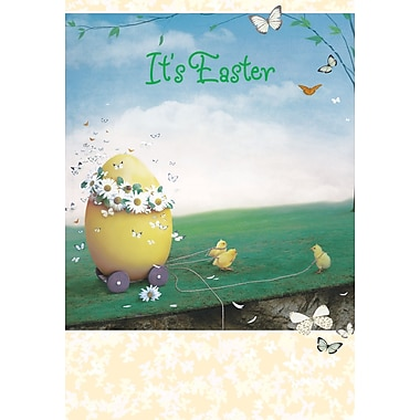 Millbrook (22733) Easter Greeting Card, It's Easter, 18/Pack