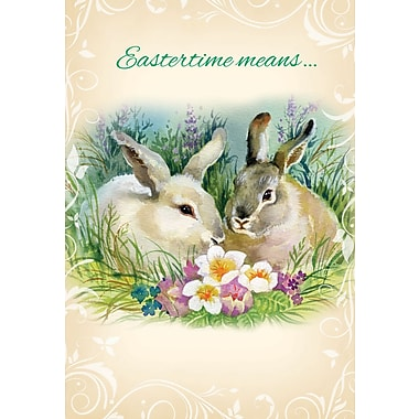 Millbrook (22742) Easter Greeting Card, Eastertime Means..., 18/Pack