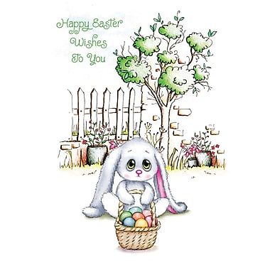 Millbrook (22906) Easter Greeting Card, Happy Easter, 18/Pack