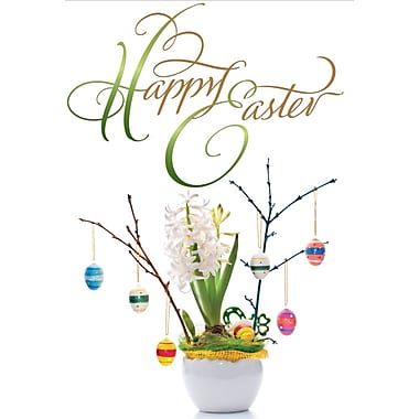 Millbrook (22972) Easter Greeting Card, Happy Easter, 18/Pack