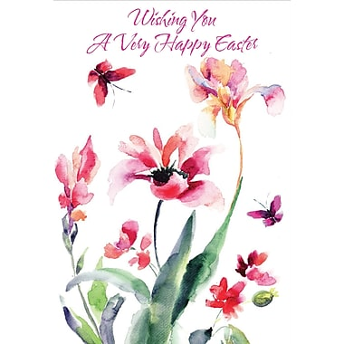 Millbrook (22973) Easter Greeting Card, Wishing You a Very..., 18/Pack