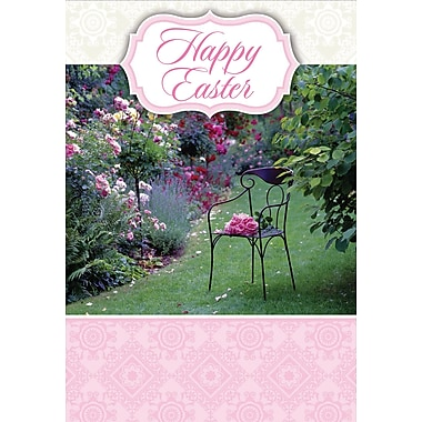 Millbrook (22974) Easter Greeting Card, Happy Easter, 18/Pack