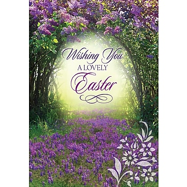 Millbrook (22975) Easter Greeting Card, Wishing you a lovely..., 18/Pack