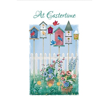 Millbrook (22976) Easter Greeting Card, At Eastertime, 18/Pack