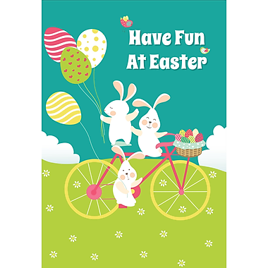 Millbrook (22990) Easter Greeting Card, Have Fun at Easter, 18/Pack
