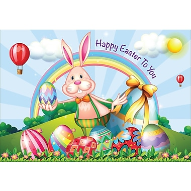 Millbrook (22991) Easter Greeting Card, Happy Easter to You, 18/Pack