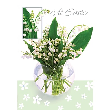 Rosedale (39293) Easter Greeting Card, At Easter, 12/Pack