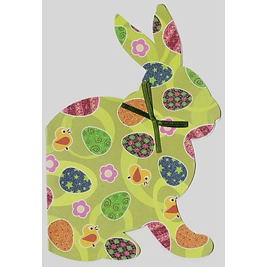 Rosedale (39298) Easter Greeting Card, Bunny, 12/Pack