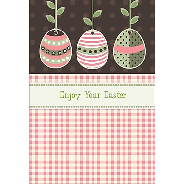 Rosedale (39377) Easter Greeting Card, Enjoy Your Easter, 12/Pack