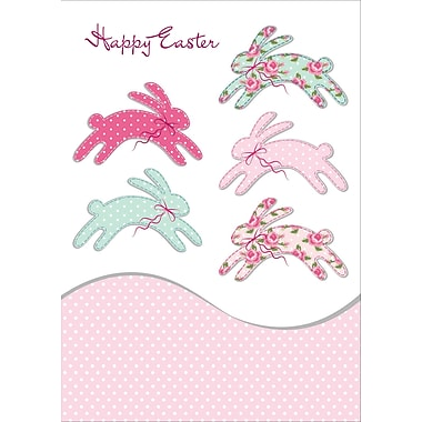 Rosedale (39379) Easter Greeting Card, Happy Easter, 12/Pack