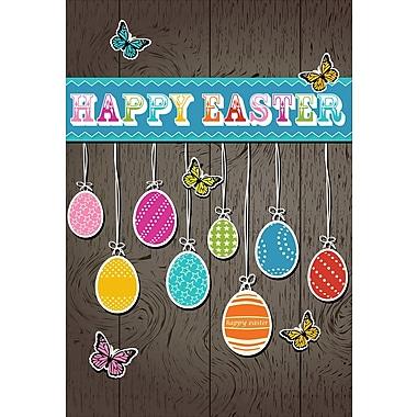 Rosedale (39382) Easter Greeting Card, Happy Easter, 12/Pack