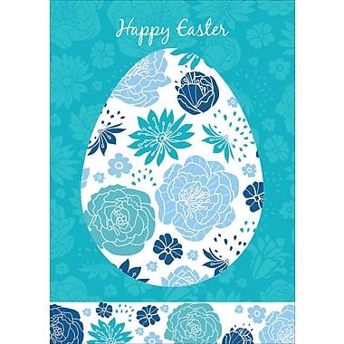 Rosedale (39386) Easter Greeting Card, Happy Easter, 12/Pack
