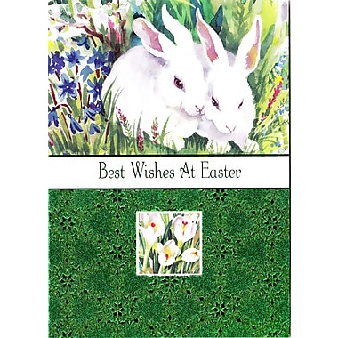 Rosedale (39388) Easter Greeting Card, Best Wishes at Easter, 12/Pack