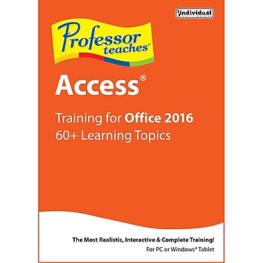 Professor Teaches Access 2016 [Download]