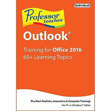 Professor Teaches Outlook 2016 [Download]