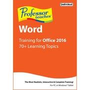 Professor Teaches Word 2016 [Téléchargement]