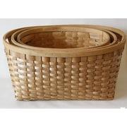 DestiDesign 3 Piece Woodchip Basket Set
