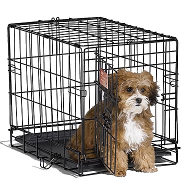 Midwest Homes For Pets iCrate Single Door Pet Crate; XX-Small (14'' H x 12'' W x 18'' L)
