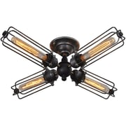 Westmen Lights Wire 4-Light Semi Flush Mount