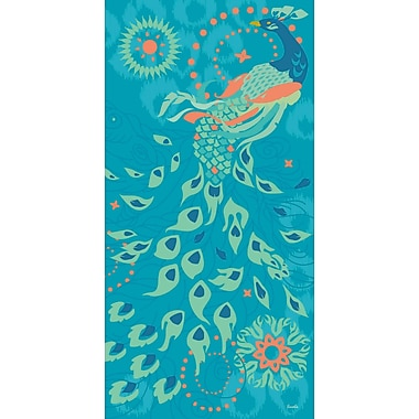 Marmont Hill 'Peacock Of Peoria' by Evelia Painting Print on Wrapped Canvas; 45'' H x 22.5'' W