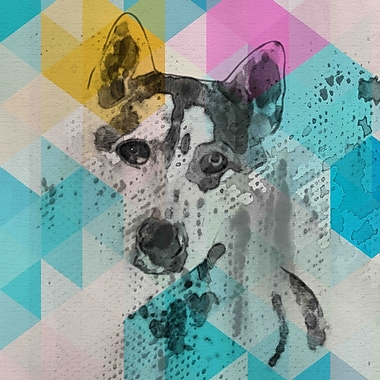 Marmont Hill 'Loving Friend' by Irena Orlov Painting Print on Wrapped Canvas; 32'' H x 32'' W