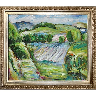 Tori Home Fields by Alfred Henry Maurer Framed Painting Print