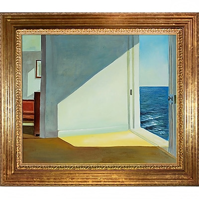 Tori Home Rooms by the Sea by Edward Hopper Framed Painting